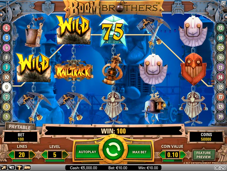 Video Boom Brothers slot dator