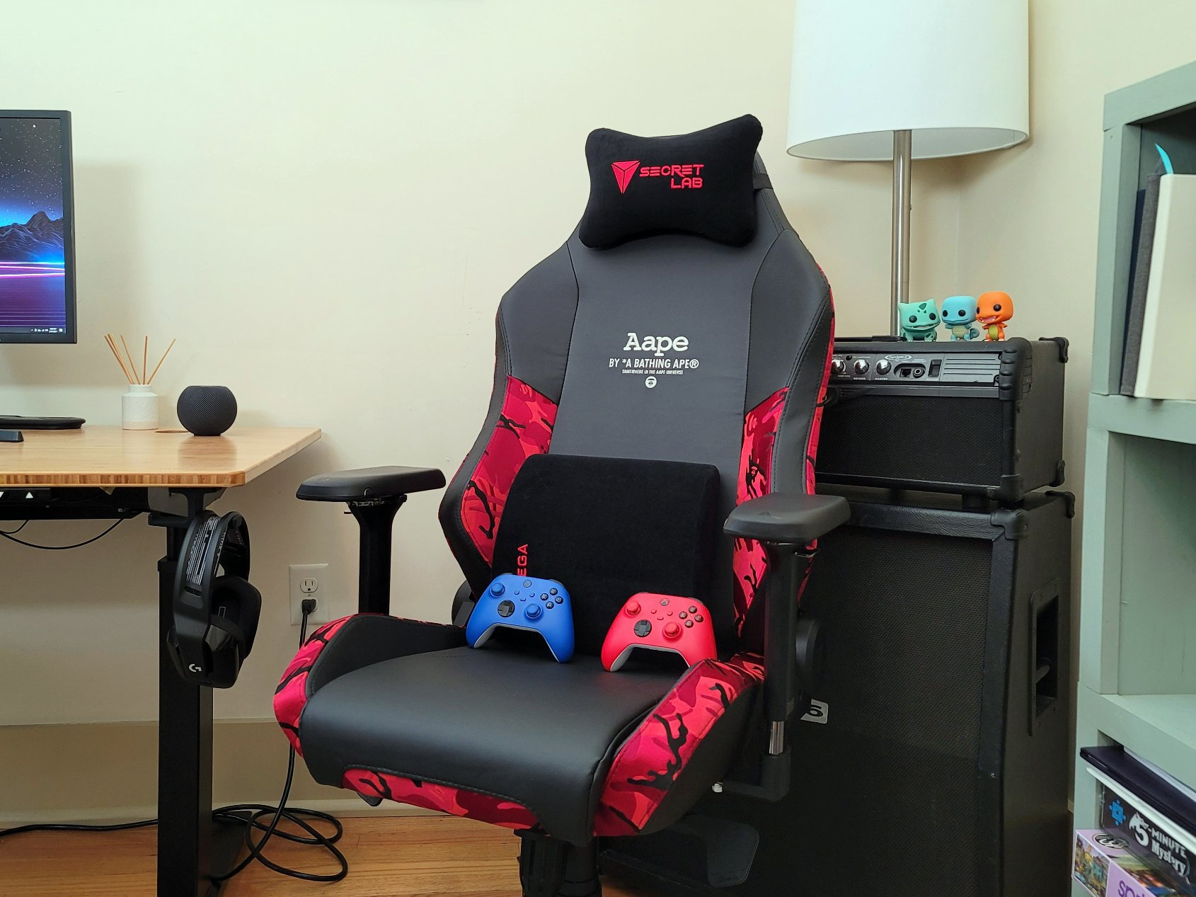 Red gaming Epic fullständig