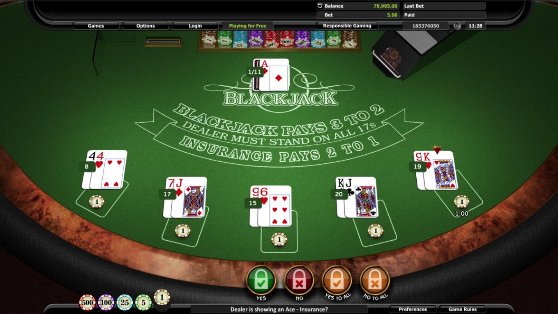 Thrills casino flashback bluff