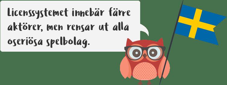 Sveriges nya spellicens flashback