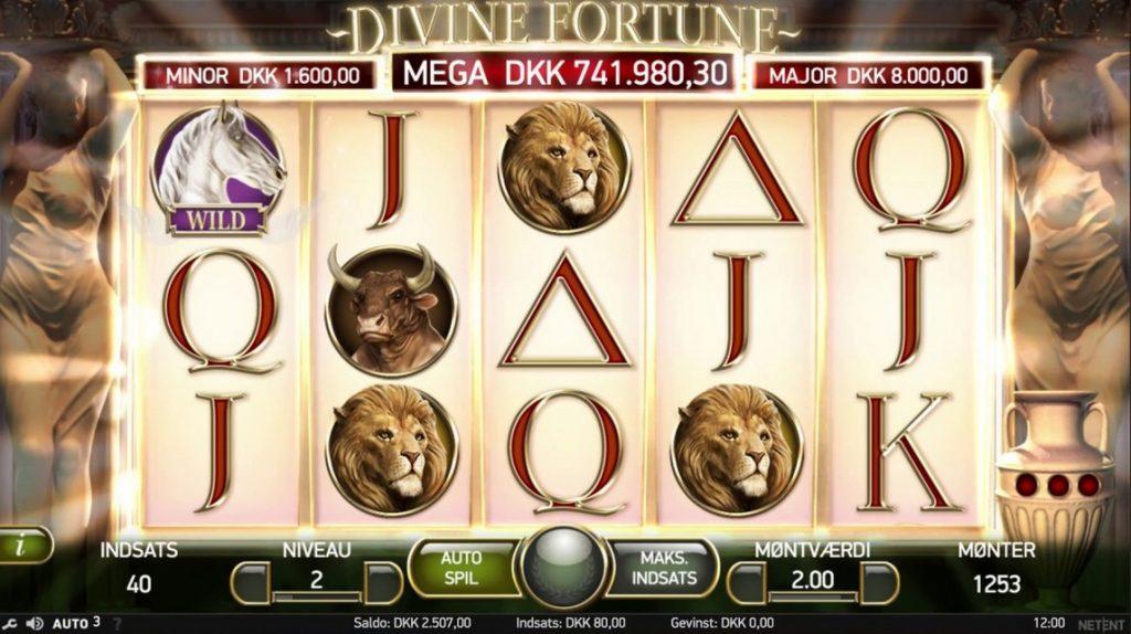 Live casino Divine lexikon