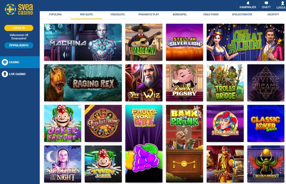 Casino med faktura Sveacasino 591500