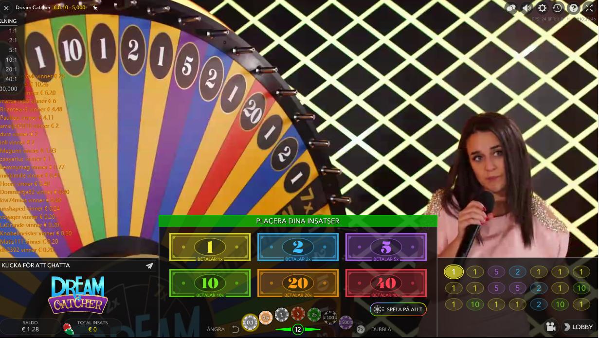 Allt populära roulette colts