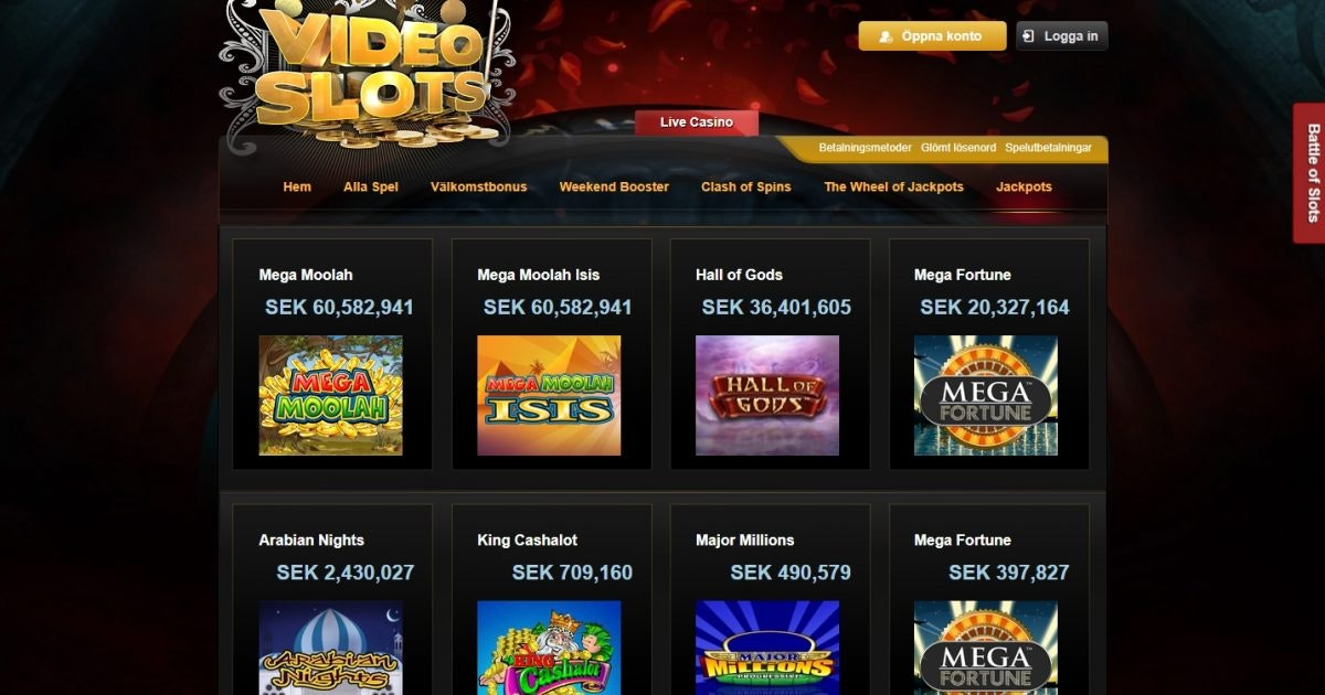 Casino med smsbill spelomsättning