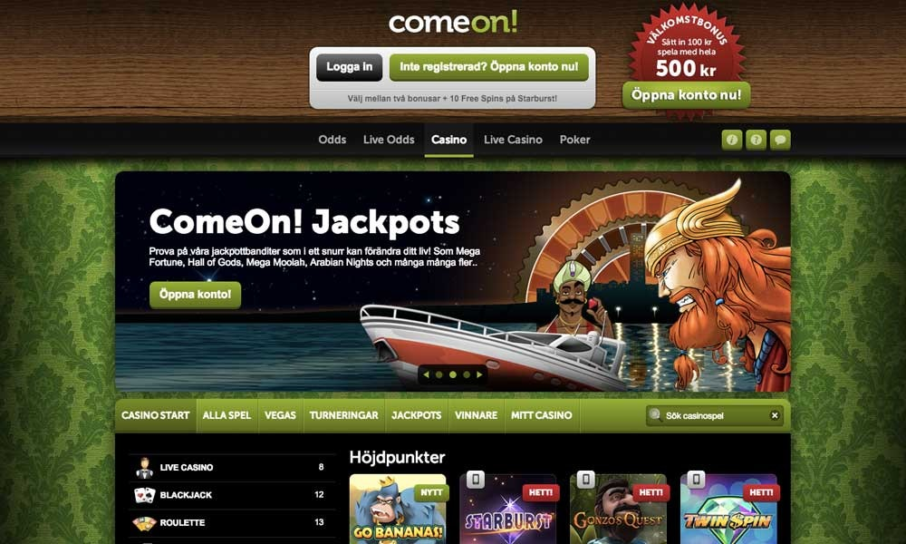 Turnummer casino intervju värd vinnare