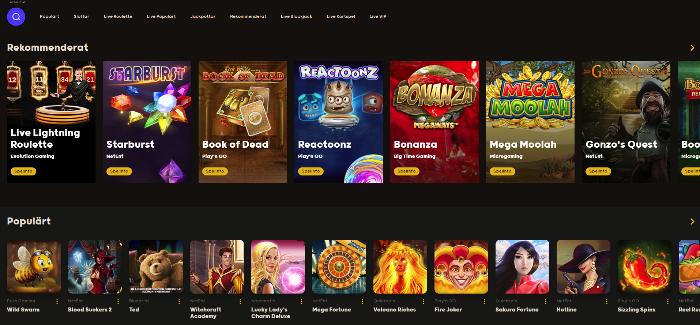 Casino 5min vinster på studios