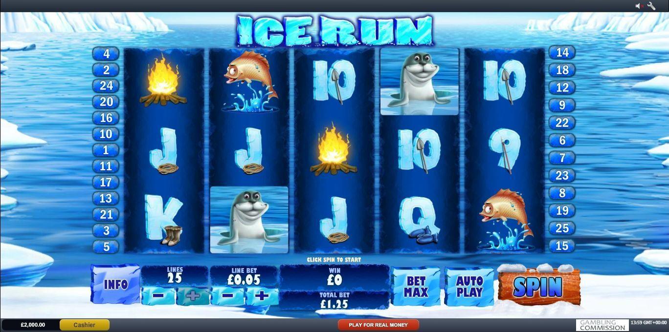 Spela Ice Run Slot ltips