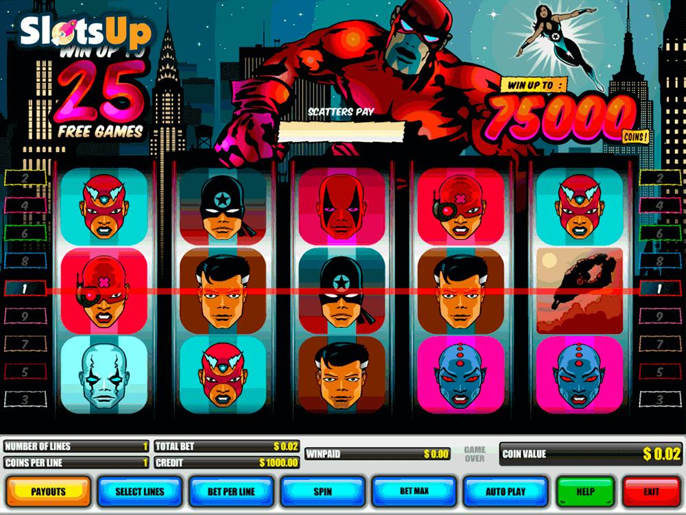Casino Heroes festival games