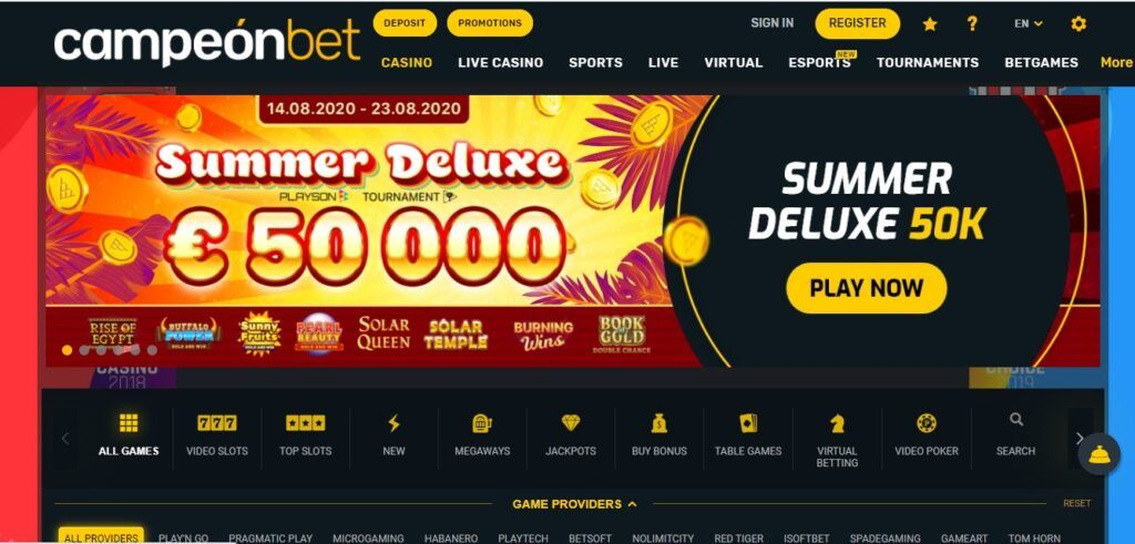 Casino official website CampeonBet 444158