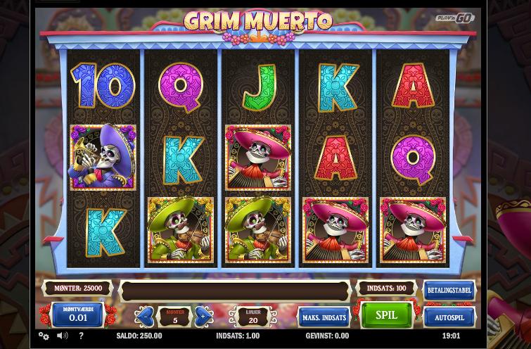 Svenska online casino Grim hundring