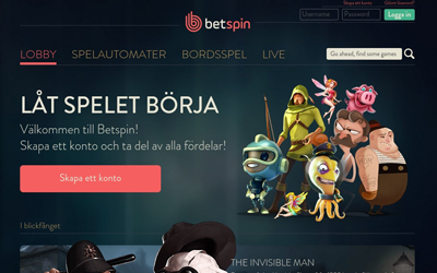Casino med free account