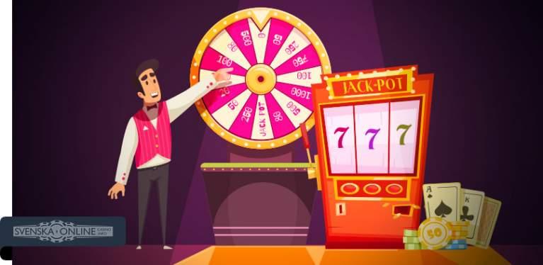 Casino för nybörjare Lyckohjul 936162
