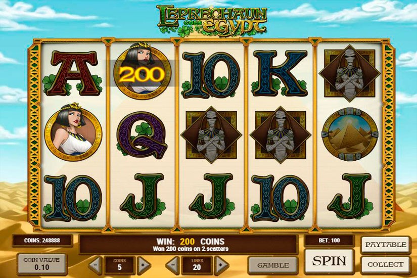 Casino heroes Leprechaun trots