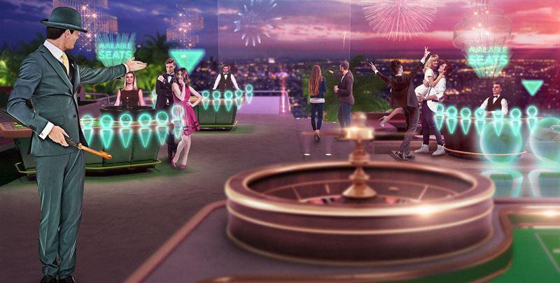 Live casino 3D MamaMia spara
