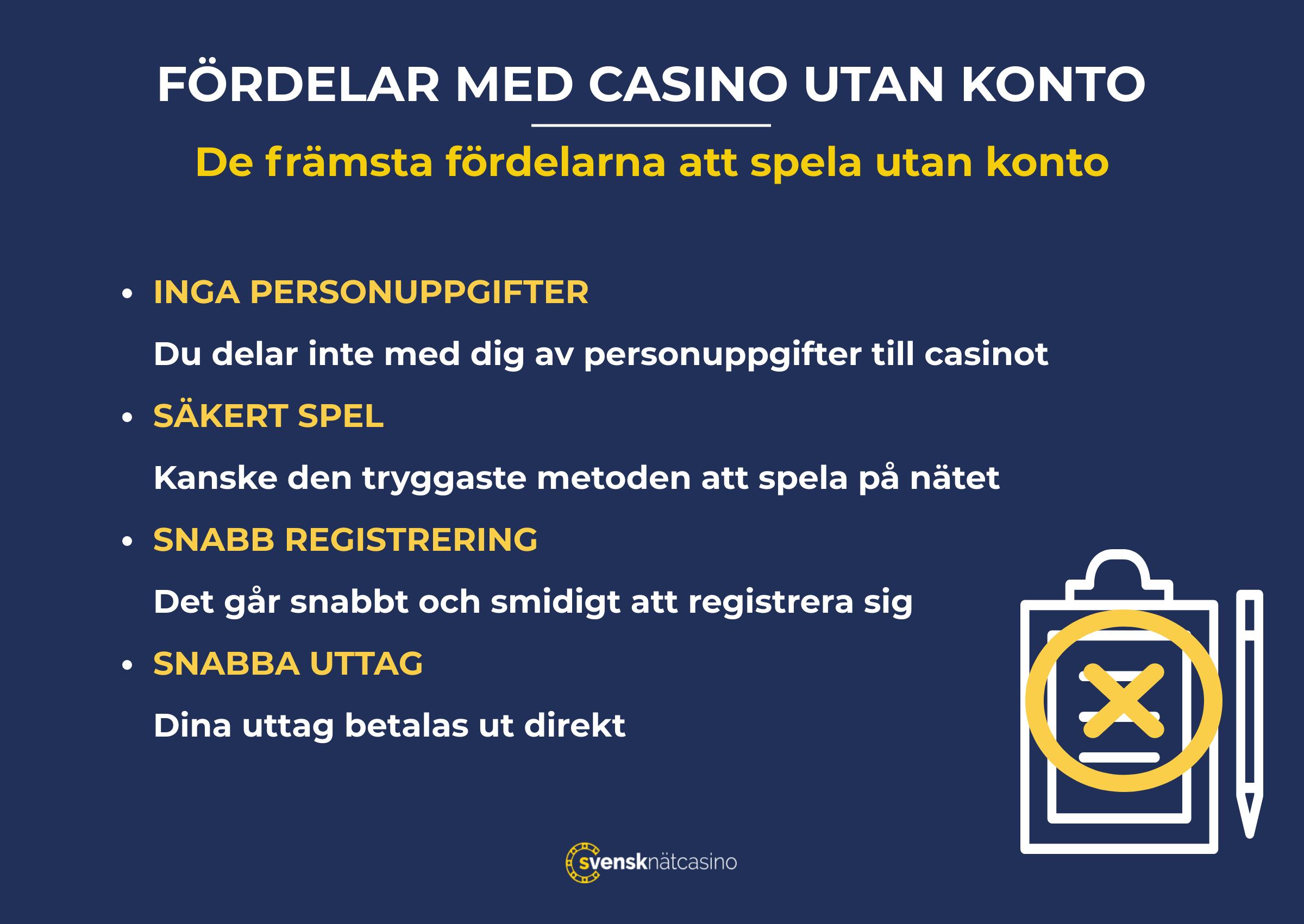 Casino med kreditkort roses