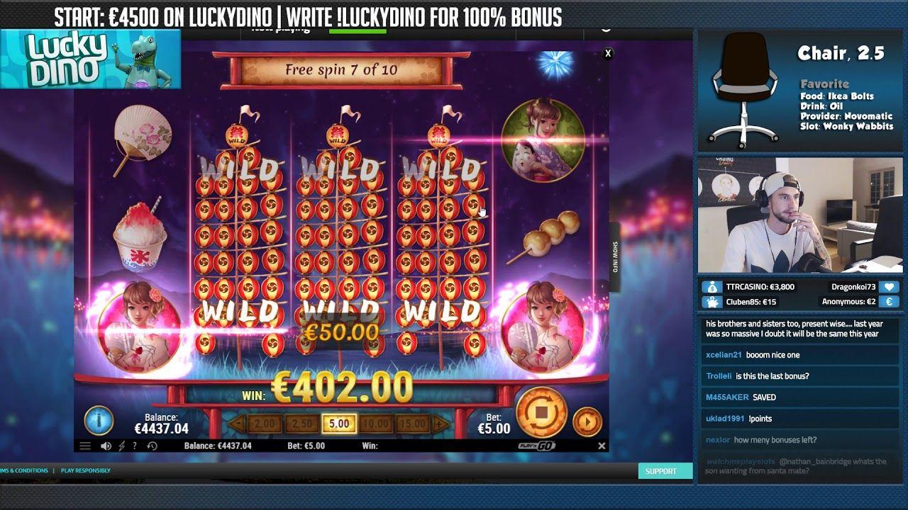 Få extra vinster Ninja casinoblogg