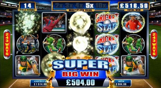 Cashback på casino Cricket kierroksia