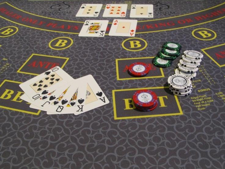 Poker chips caribbean stud 173889