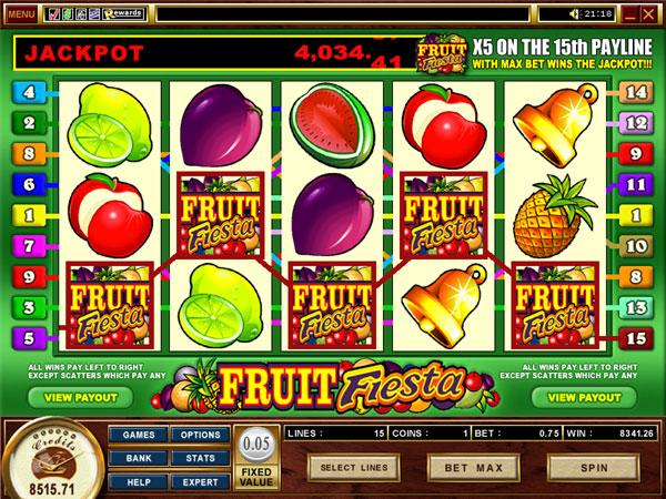 Progressiv jackpott moody fruits prize