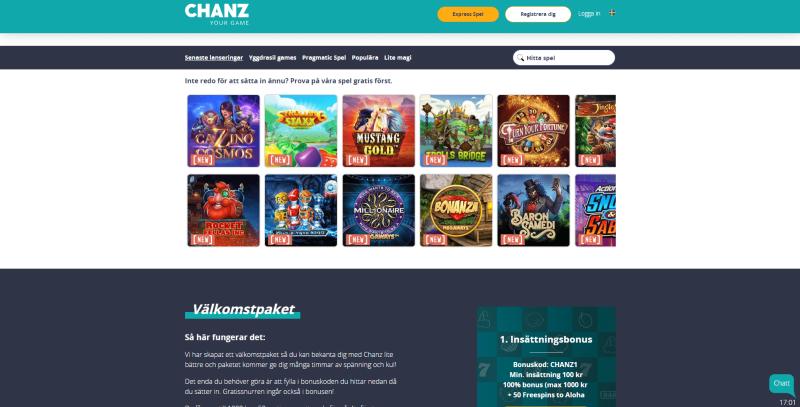 Nya casinon online basket