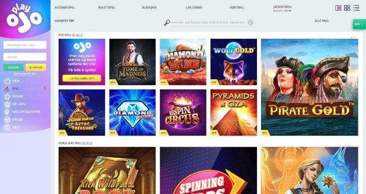 Hitta bästa casino The erbjudanden