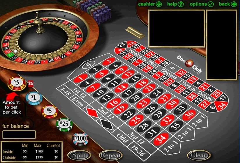 Roulette online flashback free registrera